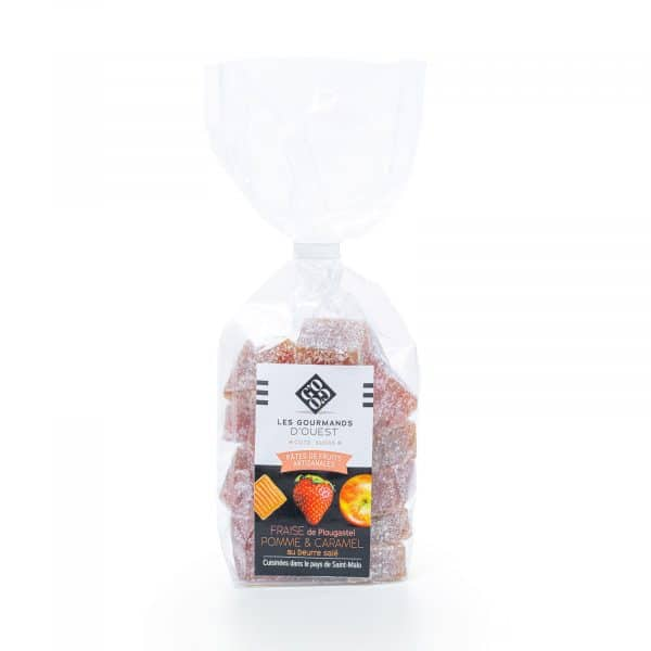 Fraise de Plougastel & pomme Caramel au Beurre Salé